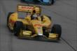 Ryan Hunter-Reay on course during the Iowa Corn Indy 300 at Iowa Speedway -- Photo by: Chris Jones