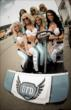 The UFD Girls at the Iowa Corn Indy 300 at Iowa Speedway -- Photo by: Shawn Gritzmacher