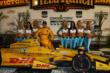 Ryan Hunter-Reay with the UFD Girls in Victory Lane after winning the Iowa Corn Indy 300 at Iowa Speedway -- Photo by: Chris Jones