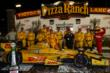 Andretti Autosport and Ryan Hunter-Reay in Victory Lane after winning the Iowa Corn Indy 300 at Iowa Speedway -- Photo by: Chris Jones