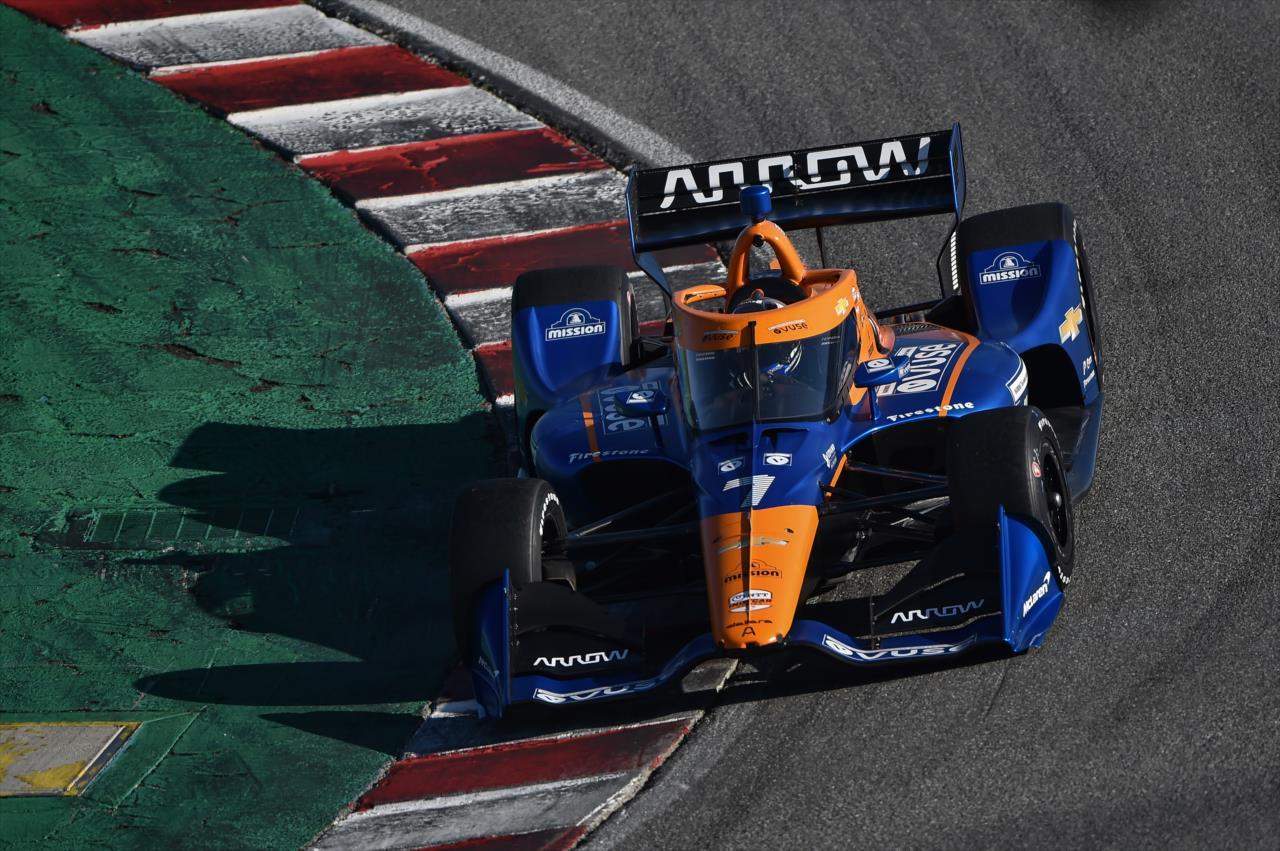 McLaren SP terá Felix Rosenqvist no carro 7 este ano (Chris Owens/Indycar)