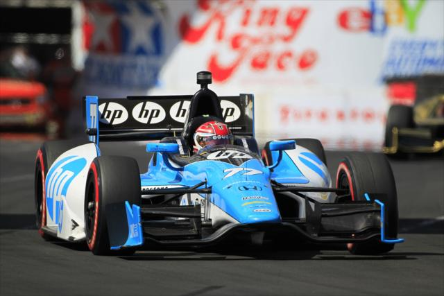 Miglior corsa stagionale a Long Beach. LAT Photo USA, indycar.com