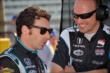 Simon Pagenaud prior to practice at the Indianapolis Motor Speedway -- Photo by: John Cote