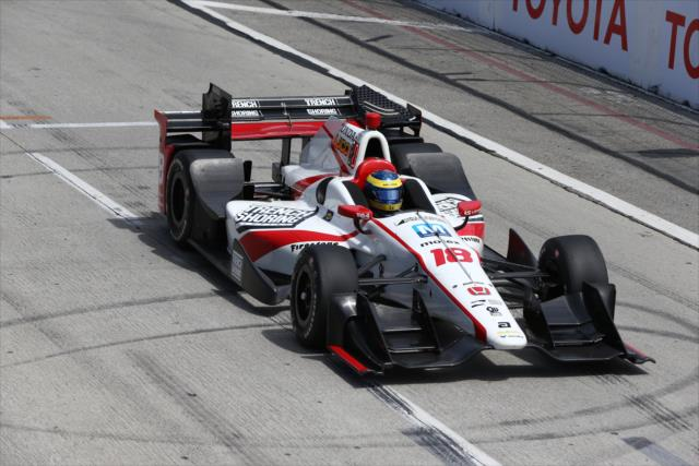 Sebastien Bourdais. indycar.com; Chris Jones