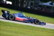 Graham Rahal on course during practice for the Honda Indy 200 at Mid-Ohio -- Photo by: Bret Kelley