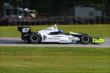 Josef Newgarden rolls through the Carousel Turn 12 during practice for the Honda Indy 200 at Mid-Ohio -- Photo by: Bret Kelley