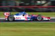 Takuma Sato rolls through the Turn 12 Carousel during practice for the Honda Indy 200 at Mid-Ohio -- Photo by: Bret Kelley