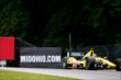Tony Kanaan makes his way into Turn 10 during practice for the Honda Indy 200 at Mid-Ohio -- Photo by: Bret Kelley