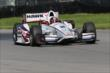 Juan Pablo Montoya on course during practice for the Honda Indy 200 at Mid-Ohio -- Photo by: Bret Kelley