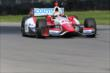 Justin Wilson on course during practice for the Honda Indy 200 at Mid-Ohio -- Photo by: Bret Kelley