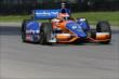 Charlie Kimball on course during practice for the Honda Indy 200 at Mid-Ohio -- Photo by: Bret Kelley