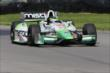 Sebastien Bourdais on course during practice for the Honda Indy 200 at Mid-Ohio -- Photo by: Bret Kelley