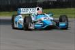 James Hinchcliffe on course during practice for the Honda Indy 200 at Mid-Ohio -- Photo by: Bret Kelley