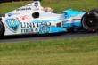 James Hinchcliffe rolls through the Carousel Turn 12 during practice for the Honda Indy 200 at Mid-Ohio -- Photo by: Bret Kelley