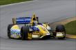 Marco Andretti on course during practice for the Honda Indy 200 at Mid-Ohio -- Photo by: Bret Kelley