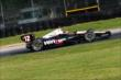 Will Power rolls through the Carousel Turn 12 during practice for the Honda Indy 200 at Mid-Ohio -- Photo by: Bret Kelley
