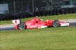 Scott Dixon rolls through the Turn 12 Carousel during practice for the Honda Indy 200 at Mid-Ohio -- Photo by: Bret Kelley