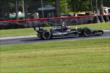 Jack Hawksworth rolls through the Turn 12 Carousel during practice for the Honda Indy 200 at Mid-Ohio -- Photo by: Bret Kelley