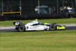 Josef Newgarden rolls through the Turn 12 Carousel during practice for the Honda Indy 200 at Mid-Ohio -- Photo by: Bret Kelley