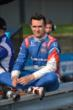 Mikhail Aleshin sits on pit lane prior to practice for the Honda Indy 200 at Mid-Ohio -- Photo by: Chris Owens