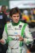 Carlos Munoz prepares for practice for the Honda Indy 200 at Mid-Ohio -- Photo by: Chris Owens