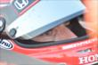 Simon Pagenaud sits on pit lane prior to practice for the Honda Indy 200 at Mid-Ohio -- Photo by: Chris Owens