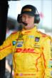 Ryan Hunter-Reay waits on pitlane prior to practice for the Honda Indy 200 at Mid-Ohio -- Photo by: Chris Owens