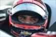 Juan Pablo Montoya waits for practice to begin for the Honda Indy 200 at Mid-Ohio -- Photo by: Chris Owens