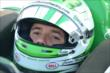 Carlos Munoz sits in his car prior to practice for the Honda Indy 200 at Mid-Ohio -- Photo by: Chris Owens