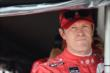 Scott Dixon waits in his pit stand prior to practice for the Honda Indy 200 at Mid-Ohio -- Photo by: Chris Owens