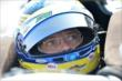 Sebastien Bourdais sits in his car prior to practice for the Honda Indy 200 at Mid-Ohio -- Photo by: Chris Owens