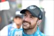 James Hinchcliffe waits on pit lane prior to practice for the Honda Indy 200 at Mid-Ohio -- Photo by: Chris Owens
