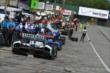 The pit lane comes to life prior to practice for the Honda Indy 200 at Mid-Ohio -- Photo by: Chris Owens