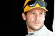 Marco Andretti waits in his pit stand prior to practice for the Honda Indy 200 at Mid-Ohio -- Photo by: Chris Owens