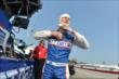 Ryan Briscoe prepares for practice for the Honda Indy 200 at Mid-Ohio -- Photo by: Chris Owens