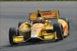 Ryan Hunter-Reay on course during practice for the Honda Indy 200 at Mid-Ohio -- Photo by: Chris Owens