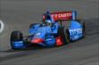 Ryan Briscoe on course during practice for the Honda Indy 200 at Mid-Ohio -- Photo by: Chris Owens