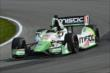 Sebastien Bourdais on course during practice for the Honda Indy 200 at Mid-Ohio -- Photo by: Chris Owens