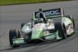 Sebastien Bourdais on course during practice for the Honda Indy 200 at Mid-Ohio -- Photo by: John Cote