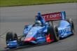 Ryan Briscoe on course during practice for the Honda Indy 200 at Mid-Ohio -- Photo by: John Cote
