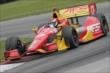 Sebastian Saavedra navigates the Turn 12 Carousel during practice for the Honda Indy 200 at Mid-Ohio -- Photo by: Joe Skibinski