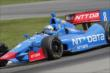 Ryan Briscoe on course during practice for the Honda Indy 200 at Mid-Ohio -- Photo by: Joe Skibinski