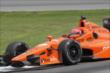 Simon Pagenaud on course during practice for the Honda Indy 200 at Mid-Ohio -- Photo by: Joe Skibinski