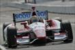 Justin Wilson roars up the frontstretch during practice for the Honda Indy 200 at Mid-Ohio -- Photo by: Joe Skibinski