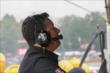Michael Andretti reviews telemetry data in the pitstand during practice for the Honda Indy 200 at Mid-Ohio -- Photo by: Joe Skibinski