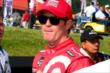 Scott Dixon waits on pit lane prior to practice for the Honda Indy 200 at Mid-Ohio -- Photo by: Bret Kelley