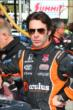 Simon Pagenaud waits on pitlane prior to practice for the Honda Indy 200 at Mid-Ohio -- Photo by: Bret Kelley