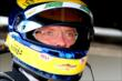 Sebastien Bourdais waits in his pit stand prior to practice for the Honda Indy 200 at Mid-Ohio -- Photo by: Bret Kelley