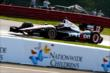 Will Power makes his way through Turn 13 during practice for the Honda Indy 200 at Mid-Ohio -- Photo by: Bret Kelley