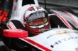 Helio Castroneves waits in his car prior to practice for the Honda Indy 200 at Mid-Ohio -- Photo by: Bret Kelley